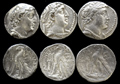 One Lot of Three Seleucid Silver Issues